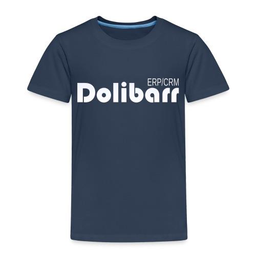 Dolibarr logo white - T-shirt Premium Enfant