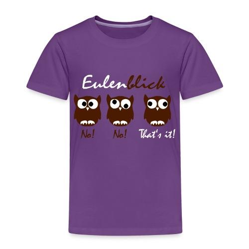 Eulenblick - Kinder Premium T-Shirt