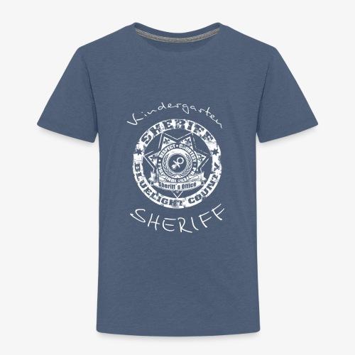kindergarten sheriff - Kinder Premium T-Shirt