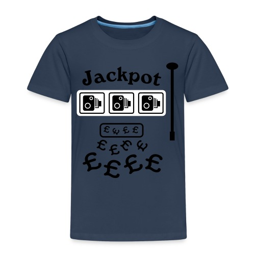 Speed Camera Jackpot - Kids' Premium T-Shirt