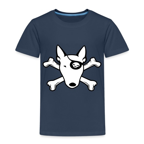 PIRATE Bullterrier - Kinder Premium T-Shirt