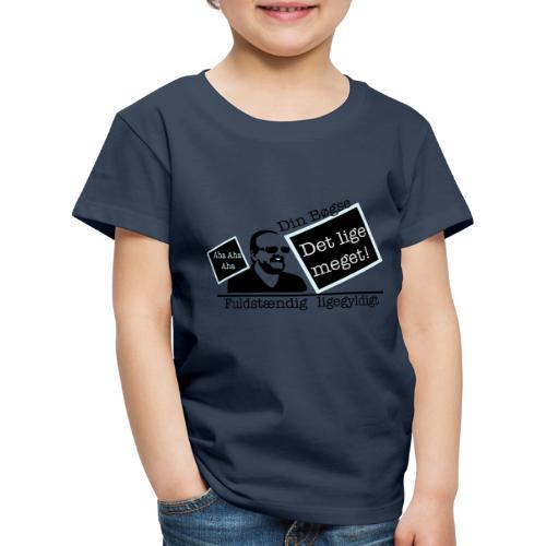 jeppe k epic wall of fame - Børne premium T-shirt