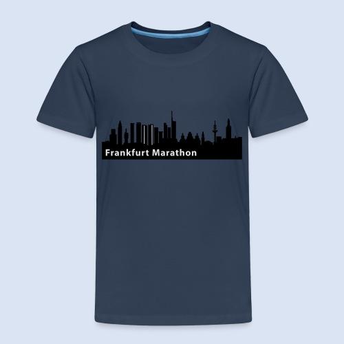 Frankfurt Marathon Skyline - Kinder Premium T-Shirt