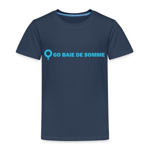 LOGO Go Baie de Somme - T-shirt Premium Enfant