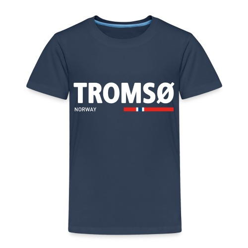 Tromsø, Norway (fra Det norske plagg) - Premium T-skjorte for barn