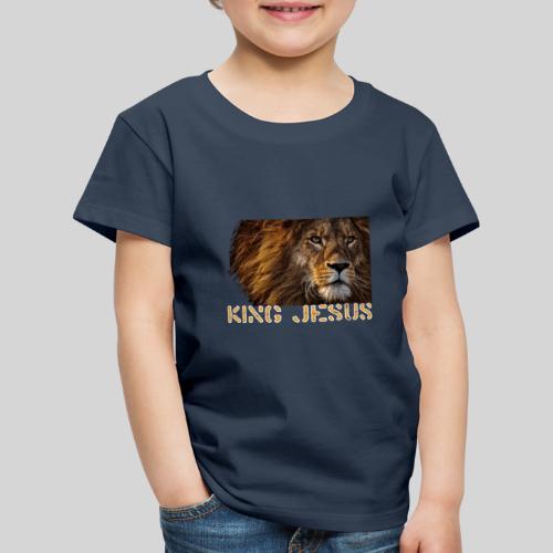 König Jesus der Löwe von Juda - Kinder Premium T-Shirt