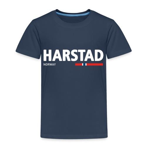 Harstad, Norway (fra Det norske plagg) - Premium T-skjorte for barn