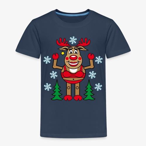 48 Madame Rudolphine Xmas - Kinder Premium T-Shirt