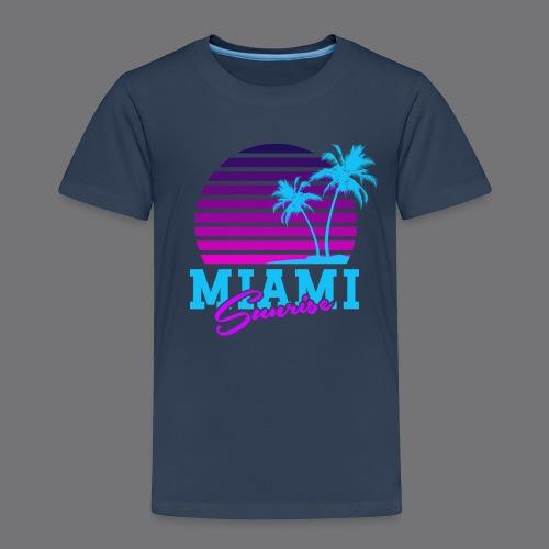 MIAMI SUNRISE t-shirts - Kids' Premium T-Shirt