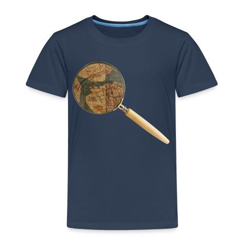 Etsivä löytää Enon - Lasten premium t-paita