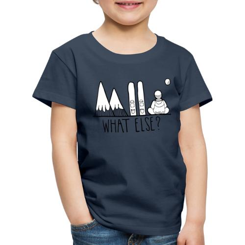 ski et montagnes what else - T-shirt Premium Enfant