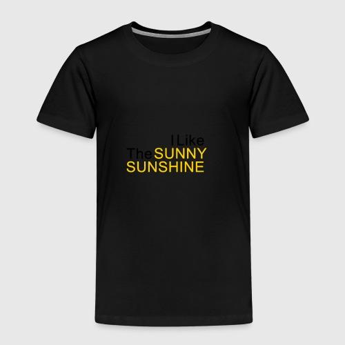Sunny Sunshine... - Kinderen Premium T-shirt