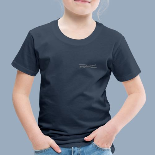 BB LOGO Typo only - Kids' Premium T-Shirt