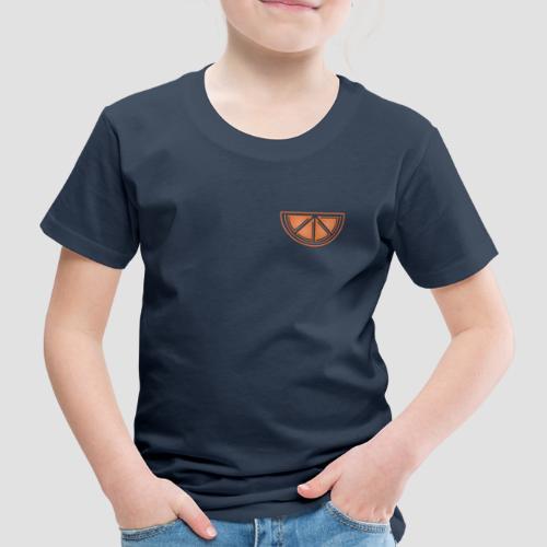 Mandarino design - Maglietta Premium per bambini