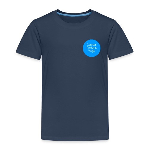 ConnorPerkinsVlogs Logo - Kids' Premium T-Shirt