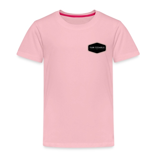 KIDS PREMIUM T-SHIRT TEAM ITZCHARLIE CORNER LOGO - Kids' Premium T-Shirt