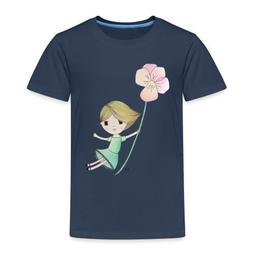 meisje met viool - Kinderen Premium T-shirt