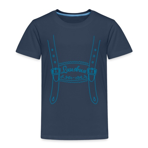 Lederhose Lausbua - Kinder Premium T-Shirt