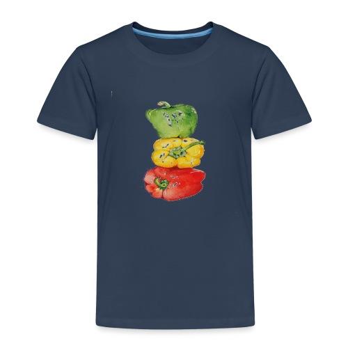 PAPRIKA REGENBOGEN - Kinder Premium T-Shirt