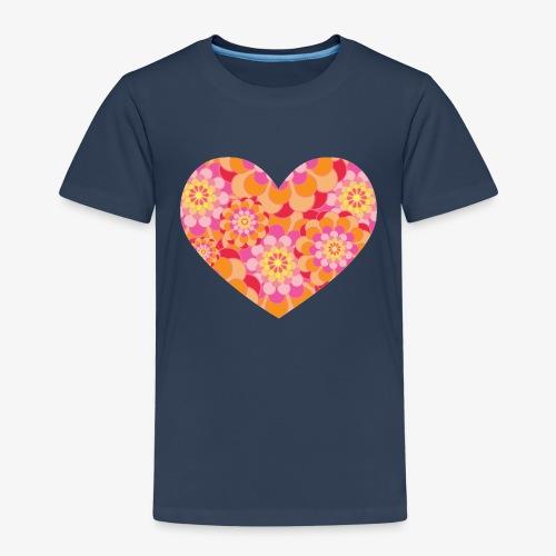 Floral Hearts - Kids' Premium T-Shirt
