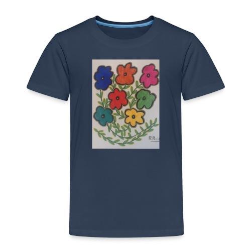 Flores - Camiseta premium niño