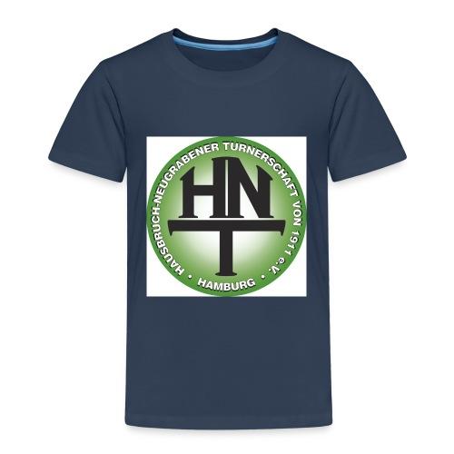 HNT Logo cmyk 300dpi jpg - Kinder Premium T-Shirt