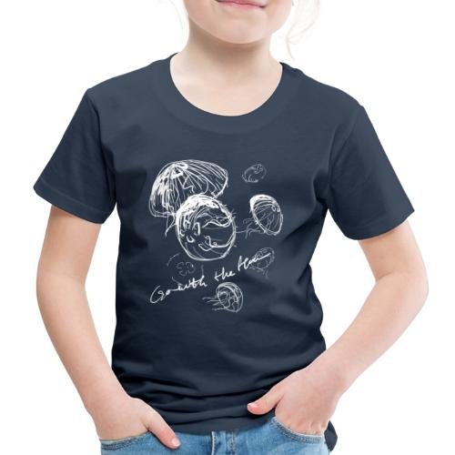 Go with the flow - Kids' Premium T-Shirt