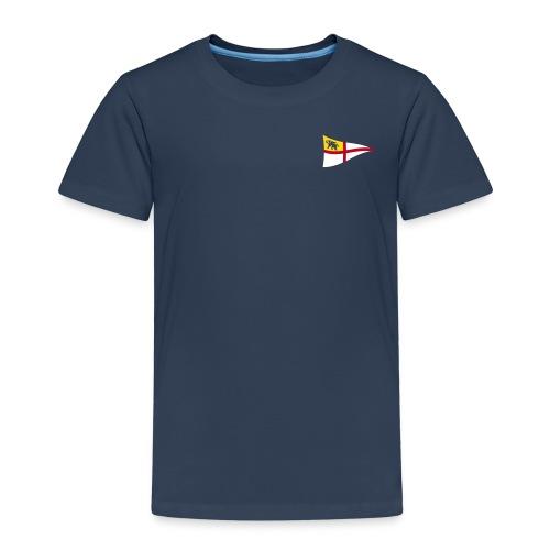 ROYC Logo 3 Farb Dunkel SIMPLE - Kinder Premium T-Shirt