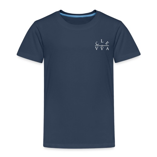 Clevva White. - Kids' Premium T-Shirt