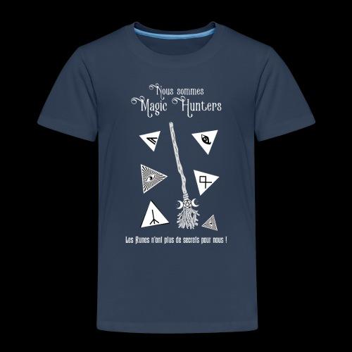 Magic Hunters : Option Runes - T-shirt Premium Enfant