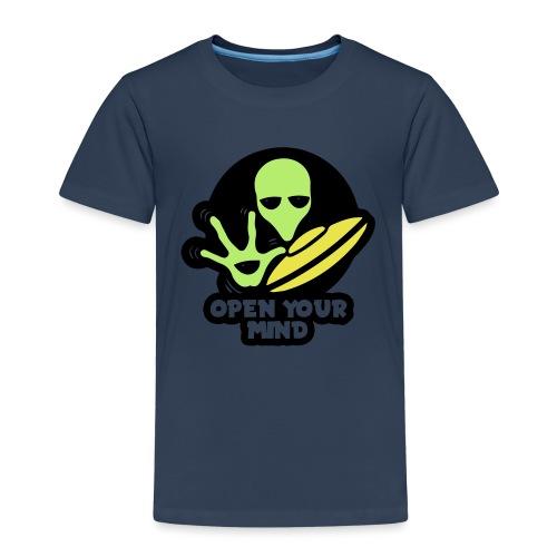 Alien Open your mind - Kids' Premium T-Shirt