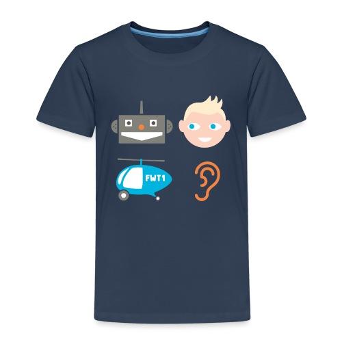 Robbi, Tobbi, Fliewatüüt - Kinder Premium T-Shirt