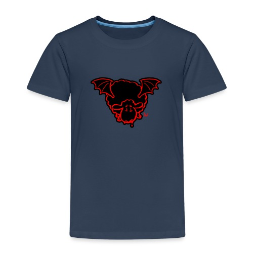 Vampire Sheep (red) - Kids' Premium T-Shirt