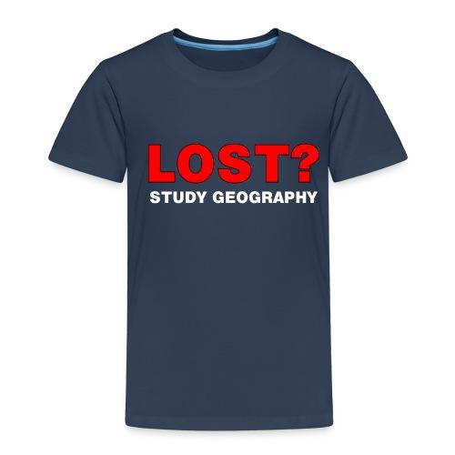 Lost? White Text - Kids' Premium T-Shirt