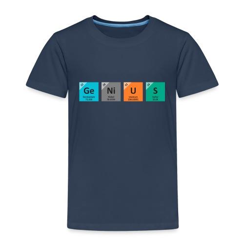 genius - Premium T-skjorte for barn
