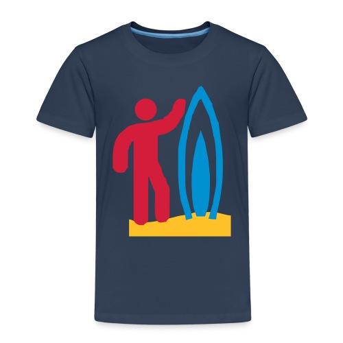 surfen - Kinder Premium T-Shirt