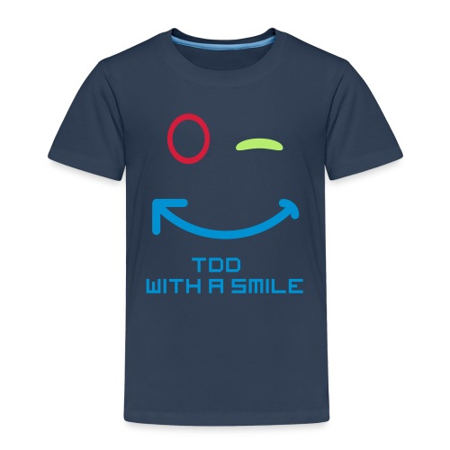 TDD with a smile - Kinderen Premium T-shirt