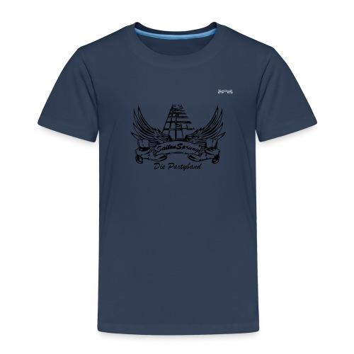 Logo Banner klein Vektor - Kinder Premium T-Shirt