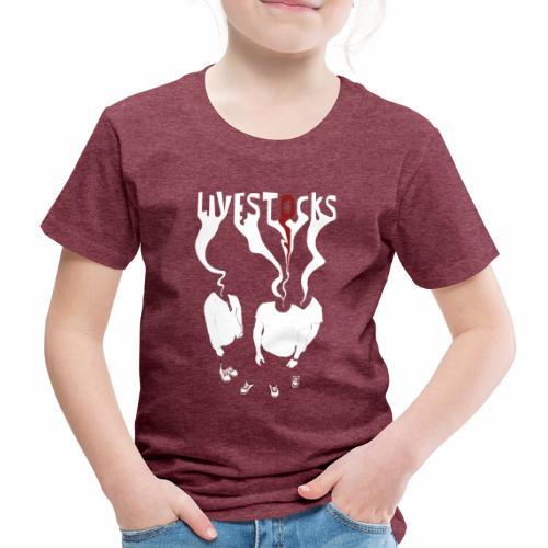 T-shirt livestocks ghost - T-shirt Premium Enfant