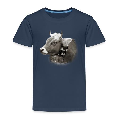 Allgäu Kuh sepia - Kinder Premium T-Shirt