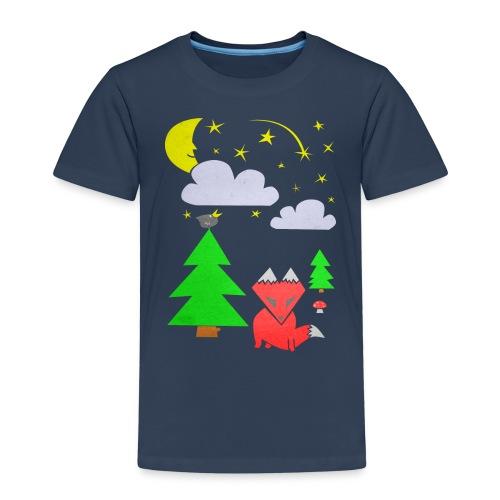 foxforest png - Premium-T-shirt barn