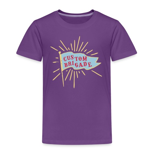 drapeau custom brigade - T-shirt Premium Enfant