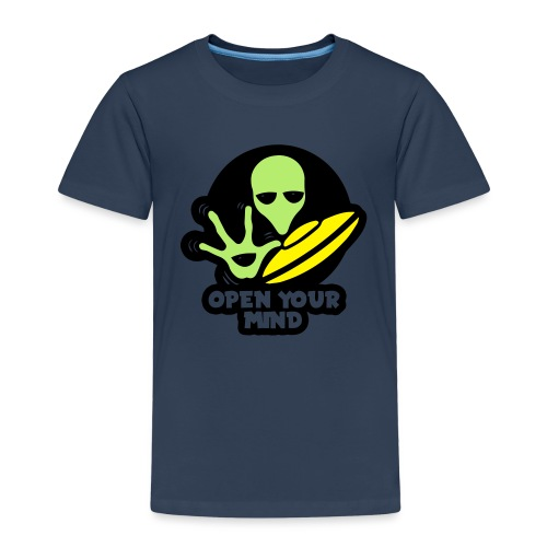 Alien Open your mind - Kids' Premium T-Shirt