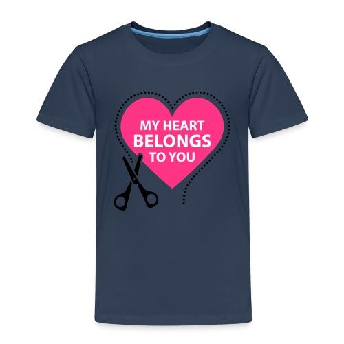 My Heart - Lasten premium t-paita