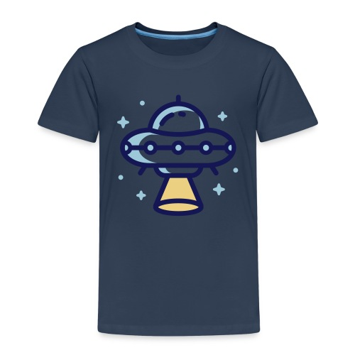Space Spaceship - Kinderen Premium T-shirt