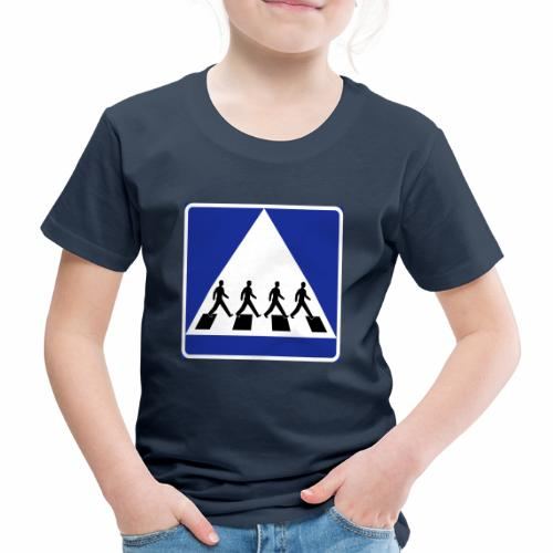 Övergångsställe - Premium-T-shirt barn