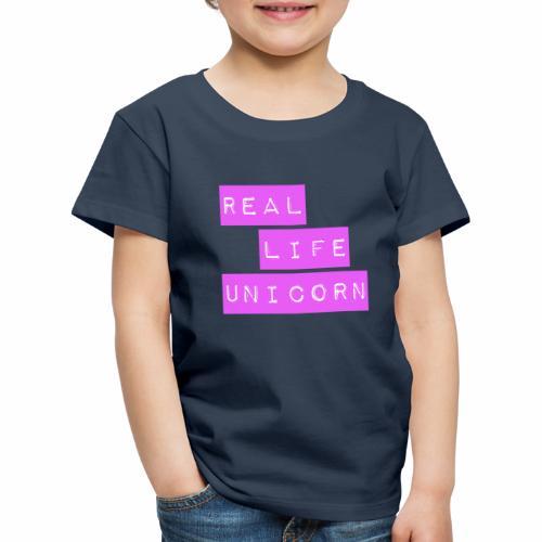Real life unicorn - Kids' Premium T-Shirt