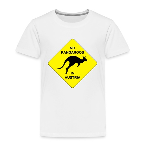 No Kangaroos in Austria - Kinder Premium T-Shirt