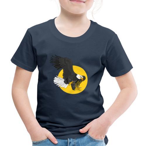 american eagle sun - Kinderen Premium T-shirt
