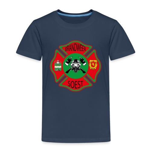 Patch Brandweer Soest - Kinderen Premium T-shirt